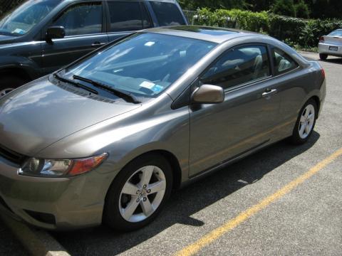 2006 Honda Civic EX Coupe in Galaxy Gray Metallic