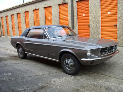 1968 Ford Mustang Coupe in Gunmetal Grey