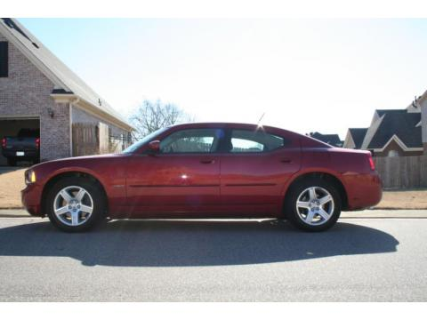 2008 Dodge Charger R/T in Inferno Red Crystal Pearl