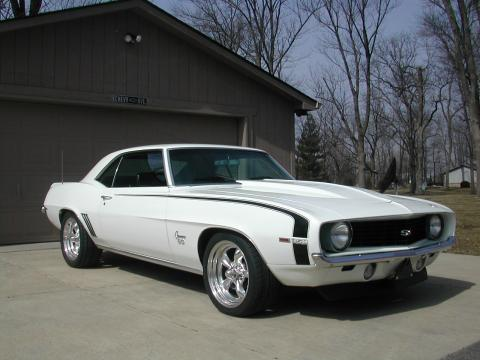 1969 Chevrolet Camaro Coupe in White