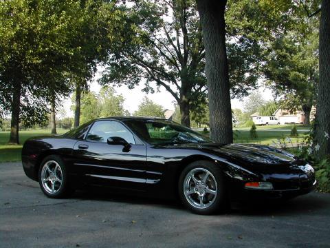 2004 Chevrolet Corvette Coupe in Black