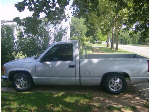 1997 GMC C/K C1500 Standard Cab in Silver