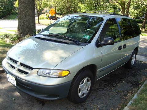 2000 Dodge Caravan  in Light Cypress Green Metallic
