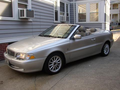 2000 Volvo C70 LT Convertible in Silver Metallic