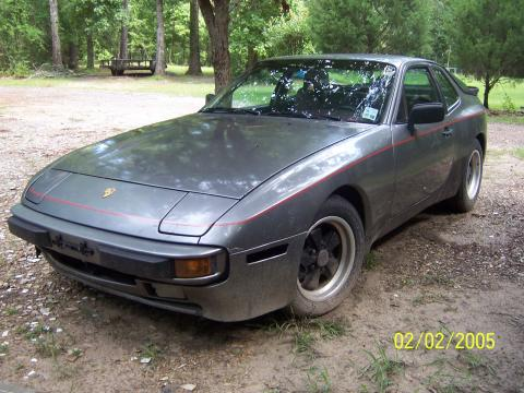1985 Porsche 944  in Silver