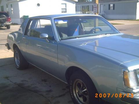 1978 Buick Regal Turbo. Teal 1978 Buick Regal with