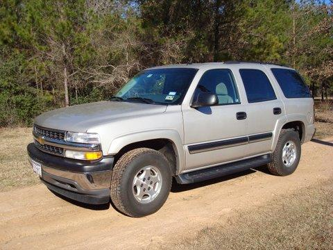 2005 Chevrolet Tahoe LS in Silver Birch Metallic