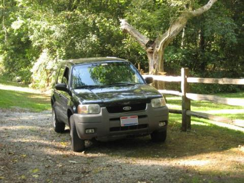 2001 Ford Escape XLT V6 in Black