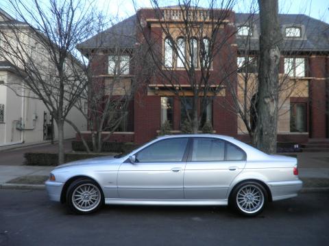 2001 BMW 5 Series 540i Sedan in Titanium Silver Metallic