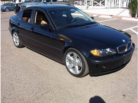 2005 BMW 3 Series 325i Sedan in Jet Black