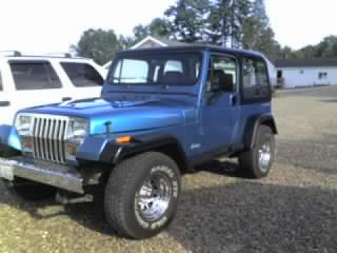 1994 Jeep Wrangler 4x4 in Glamour Turquoise Metallic