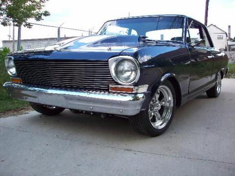 1962 Chevrolet Chevy II Nova in Blue Pearl