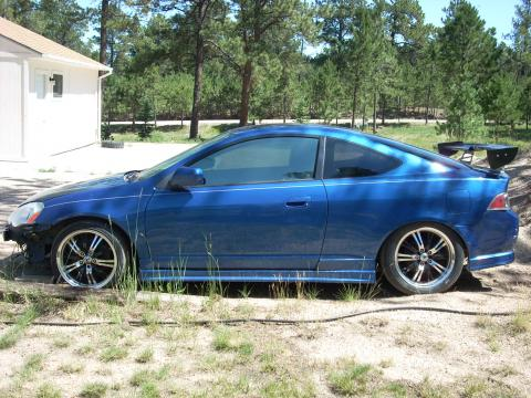 2002 Acura RSX Type S Sports Coupe in Eternal Blue Pearl