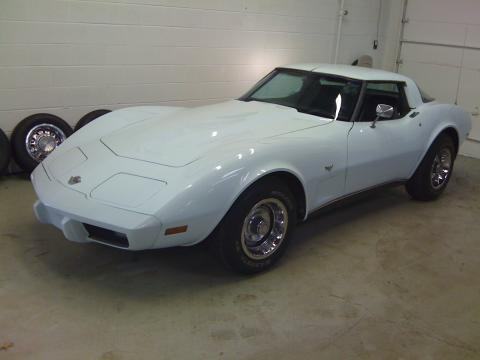 1978 Chevrolet Corvette Coupe in White