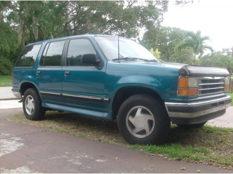 1994 Ford Explorer 4-door in Teal/Green