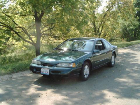 1995 Ford Thunderbird  in Dark Green