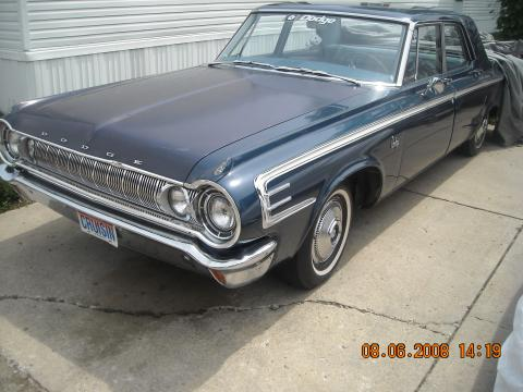 1964 Dodge 440 50th Anniversary in Blue  (code EE)