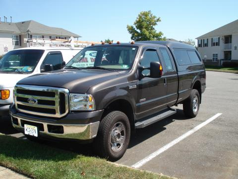 2007 Ford F350 Super Duty XLT SuperCab 4x4 in Dark Stone Metallic