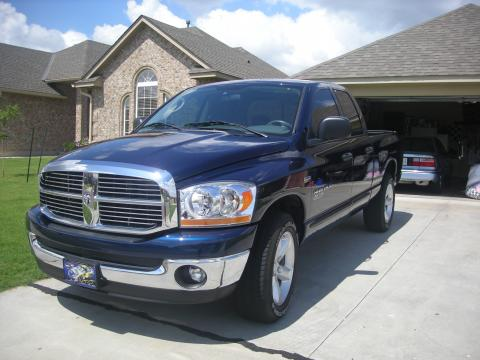 2006 Dodge Ram 1500 SLT Lone Star in Patriot Blue Pearl