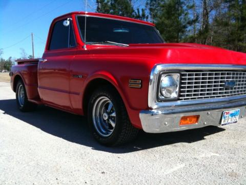1971 Chevrolet C/K C10 Series in Red