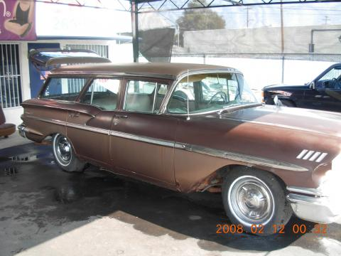 1958 Chevrolet Nomad Station Wagon in Tan