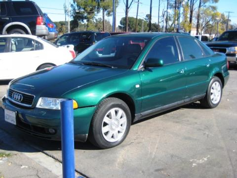 2001 Audi A4 1.8T Sedan in Cactus Green Pearl Effect