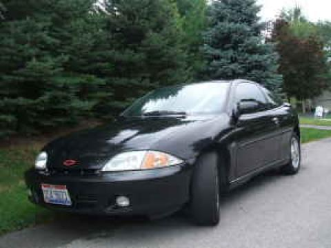 2002 Chevrolet Cavalier LS Sport Coupe in Black