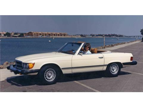 1975 Mercedes-Benz SL Class 450 SL Roadster in Cream