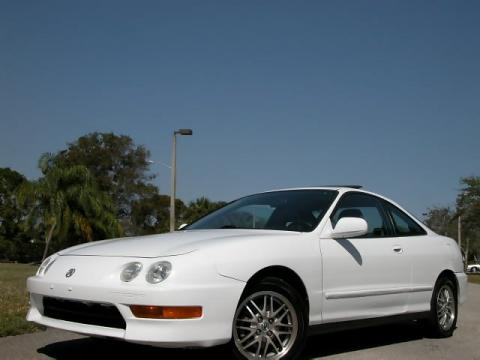 2000 Acura Integra LS Coupe in Taffeta White