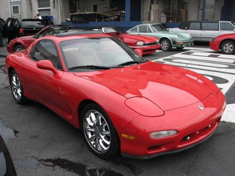 1993 Mazda RX-7 Twin Turbo in Vintage Red
