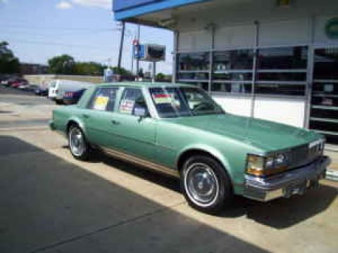 1977 Cadillac Seville Sedan in Light Green