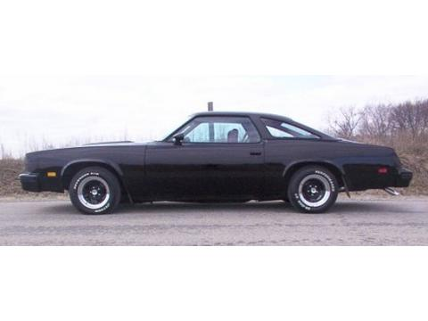 1977 Oldsmobile Cutlass S in Black
