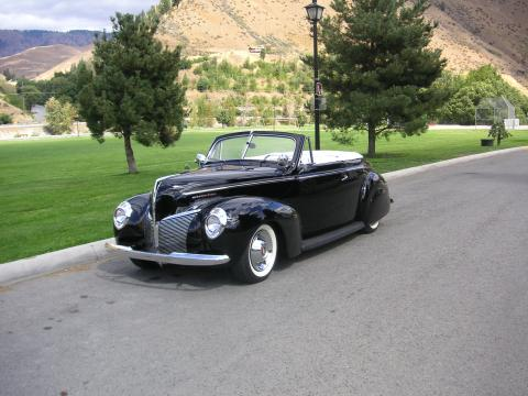 1940 Mercury Convertible  in Black
