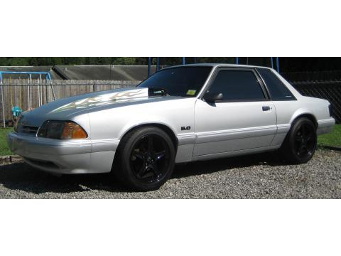1993 Ford Mustang SSP Coupe in Silver Metallic