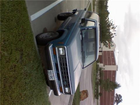 1988 Ford Bronco II XL in Light Blue/Grey