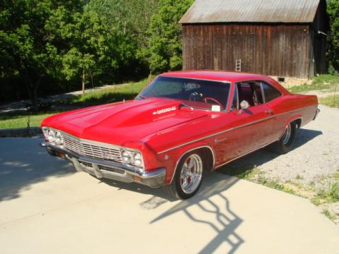 1966 Chevrolet Impala Pro Street in Red
