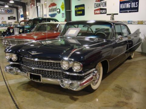 1959 Cadillac Series 62 Sedan in Dunstan Blue Metallic