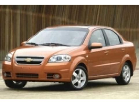 2007 Chevrolet Aveo LS Sedan in Medium Gray