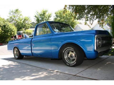 1970 Chevrolet C10  in Metallic Blue