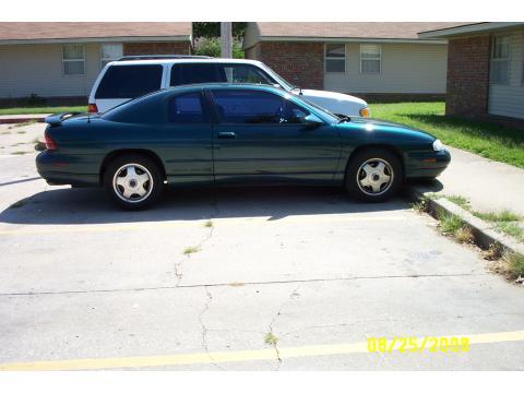 1998 Chevrolet Monte Carlo Z34 in Dark True Green Metallic