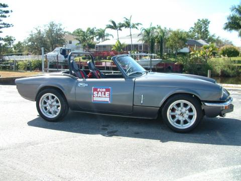 1975 Triumph Spitfire Race Car in Grey