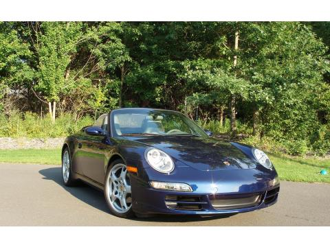 2006 Porsche 911 Carrera Cabriolet in Lapis Blue Metallic