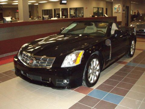 2009 Cadillac XLR Platinum Roadster in Black Raven