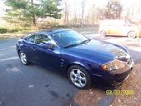 2006 Hyundai Tiburon GS in Moonlit Blue Metallic