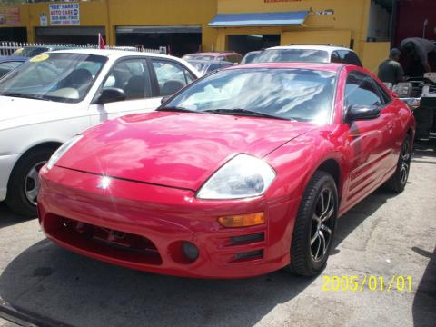 2003 Mitsubishi Eclipse GS Coupe in Saronno Red