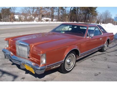 1977 Lincoln Continental Mark V in Medium Ember Metallic