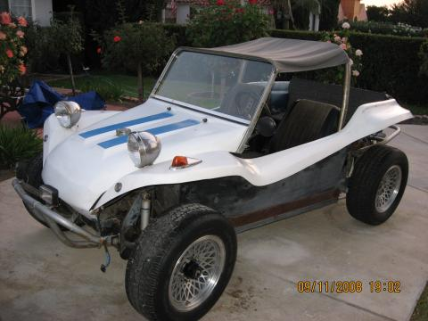 1965 Volkswagen Dune Buggy Meyers Manx in White