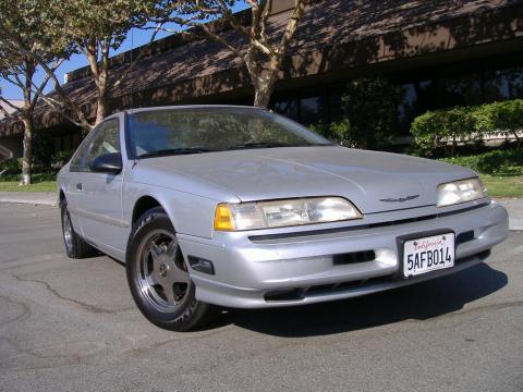 1992 Ford Thunderbird LX in Silver Metallic