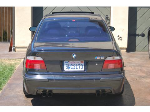 2000 BMW M5  in Avus Blue Metallic