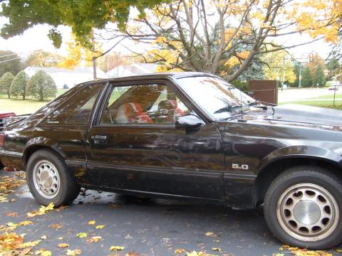 1988 Ford Mustang LX 5.0 in Black